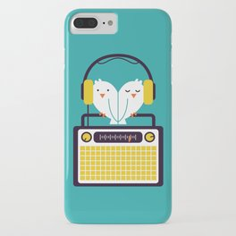 Radio Mode Love iPhone Case