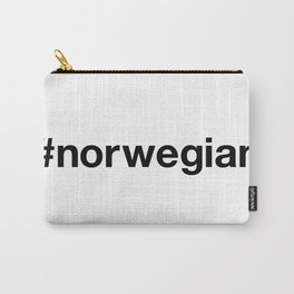NORWEGIAN Hashtag Carry-All Pouch