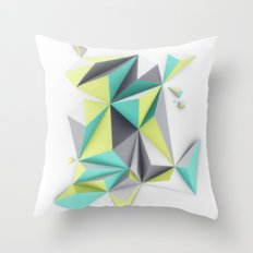 TRIANGLES//02 Throw Pillow
