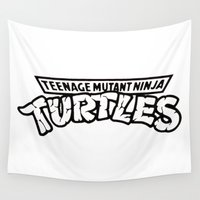tmnt Wall Tapestries featuring TMNT by Unicity