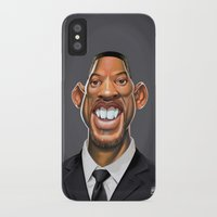 celebrity iPhone & iPod Cases featuring Celebrity Sunday ~ Will Smith by rob art | illustration