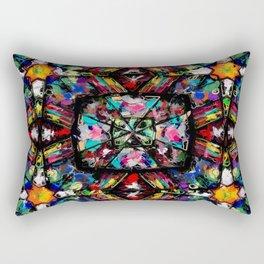 Ecuadorian Stained Glass 0760 Rectangular Pillow