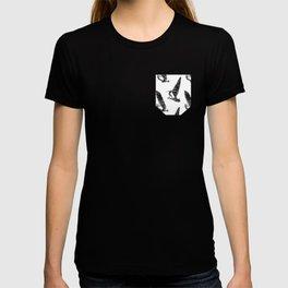 Windsurf Pattern white T-shirt