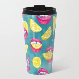 Bitch, Don't Kill My Vibe In Aqua Travel Mug