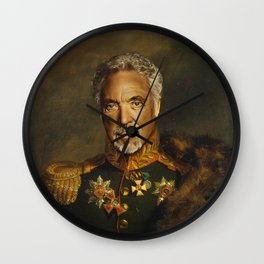 Sir Tom Jones - replaceface Wall Clock