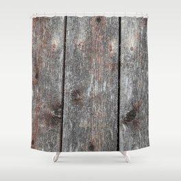 Wood 2 Shower Curtain