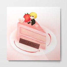 Happy Birthday Kurapika Metal Print