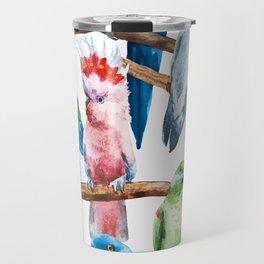 Parrot Pattern 01 Travel Mug