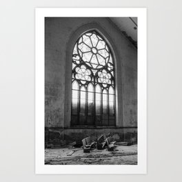 The Ghostly Gathering Art Print