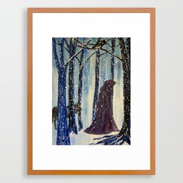 A Walk with The Spirit Guides Framed Art Print