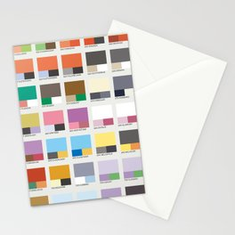 Poke-Pantone 6 (Kalos Region) Stationery Cards