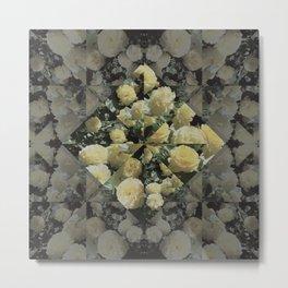 Rose Collage Metal Print