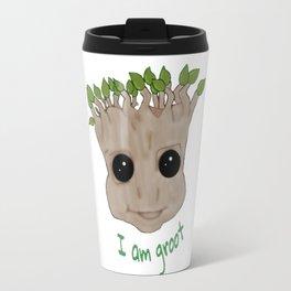 GrootFace Travel Mug