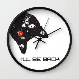 Cat Terminator Wall Clock