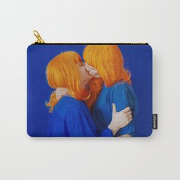 kiss (on being single) - wide Carry-All Pouch