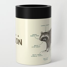 Anatomy of a Raccoon Can Cooler