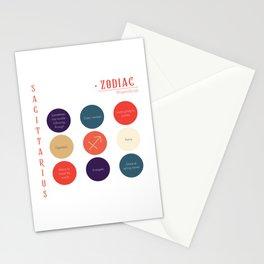Sagittarius Zodiac Sign Personality Stationery Cards