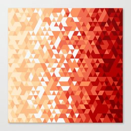 Triangle Fury Canvas Print