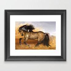 HORSE - Cherokee Framed Art Print