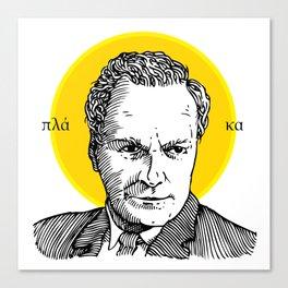 St. Feynman Canvas Print