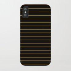 Dark Autumn Notebook Slim Case iPhone X