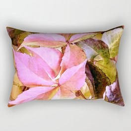 Garden leaves Rectangular Pillow