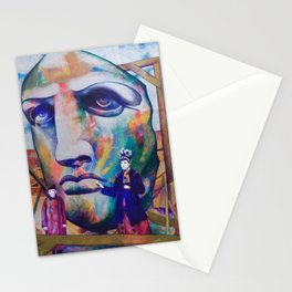 The face of liberty Stationery Cards