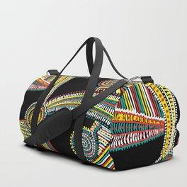 Rasta Swirls Duffle Bag