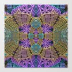 Complex Symmetry Canvas Print
