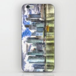 Singapore Marina Bay Sands Art iPhone Skin