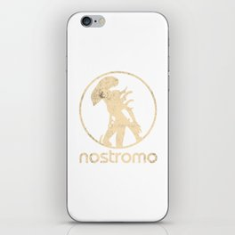 ALIEN (XENOMORPH) 'NOSTROMO' ILLUSTRATION iPhone Skin
