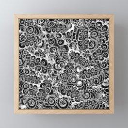 Tentacles Framed Mini Art Print