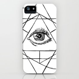 The All Seeing Eye iPhone Case
