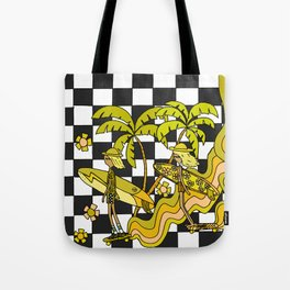 keep it groovy // 70s cruise surf & skate // retro surf art by surfy birdy Tote Bag
