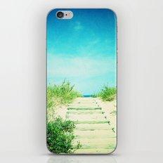 Path to the Beach iPhone & iPod Skin