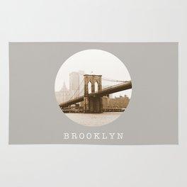 BROOKLYN / new york city / nyc Rug
