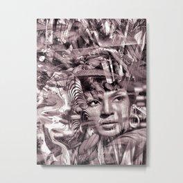 """Black Wings 4: Future Dreams"" Metal Print"
