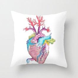 Home II: Marine Life Throw Pillow
