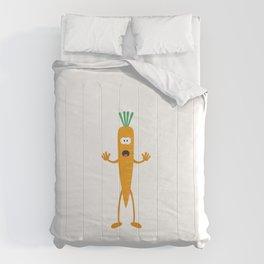 Carrot man Comforters