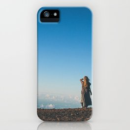 Get outside. iPhone Case