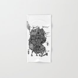 the wandering library 2 Hand & Bath Towel