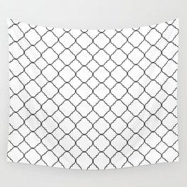 Minimalist Moroccan Wall Tapestry