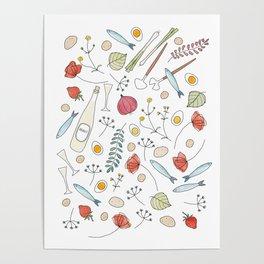 Midsummer Table Poster