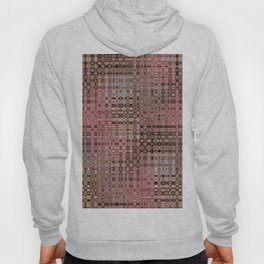 Colour Through Pattern Pink Hoody