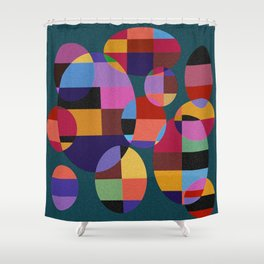 Abstract #92 Shower Curtain
