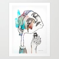 Headache#7 Art Print