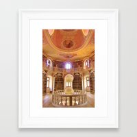 library Framed Art Prints featuring Library by howardismycat