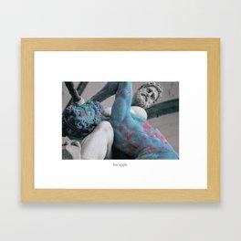 Struggle Framed Art Print