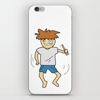 drunk iPhone & iPod Skins featuring Drunk by justang8