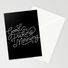 Good Fucking Morning Stationery Cards